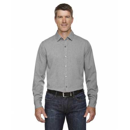 North End Sport Blue 88802 Men's Melange Performance Shirt