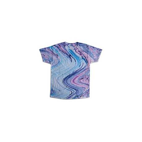 Tie-Dye CD1111 Adult Marble Tie-Dyed T-Shirt