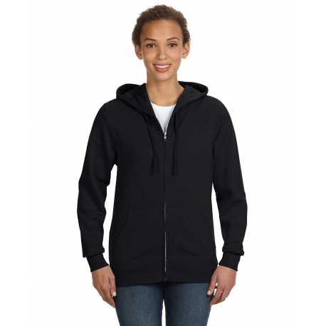 LAT 3763 Ladies' Zip French Terry Hoodie