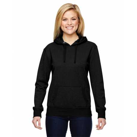 J America JA8860 Ladies' Glitter French Terry Hood