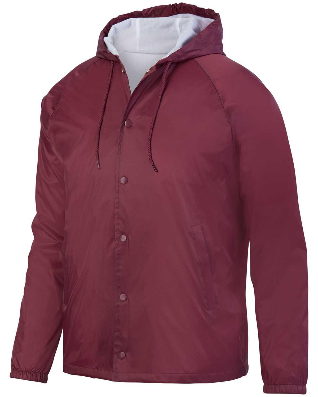 Augusta Sportswear Ag3102 Unisex Hooded Coach S Jacket