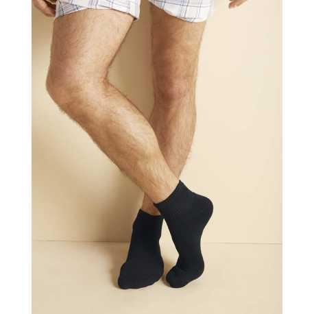 Gildan GP731 Adult Platinum Ankle Socks