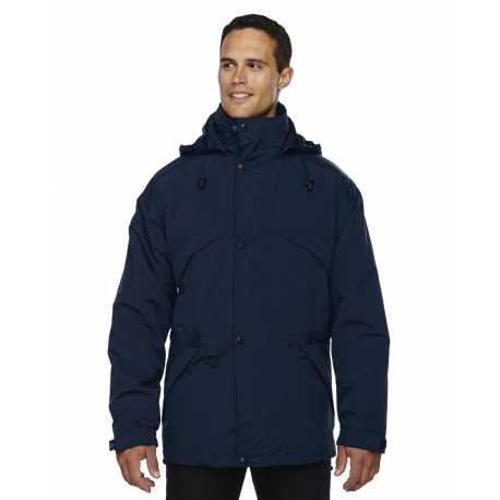 North End 88007 Adult 3-in-1 Parka with Dobby Trim