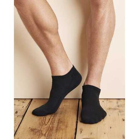 Gildan GP711 Adult Platinum No Show Socks