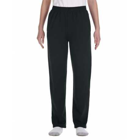 Jerzees 974Y Youth 8 oz. NuBlend Open-Bottom Fleece Sweatpants
