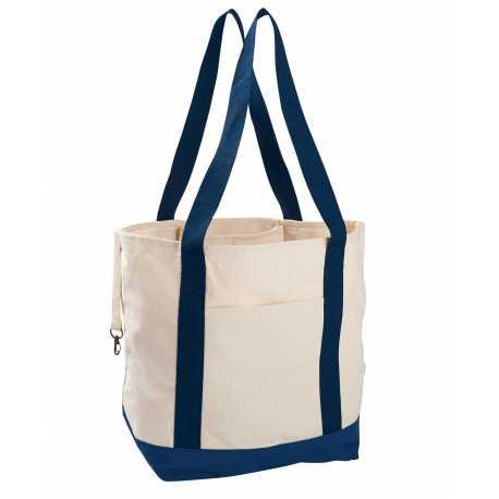 econscious EC8035 12 oz. Organic Cotton Canvas Boat Tote Bag
