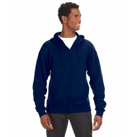 J America JA8821 Adult Premium Full-Zip Fleece Hood