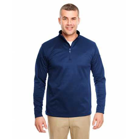 UltraClub 8440 Adult Cool & Dry Sport Quarter-Zip Pullover Fleece