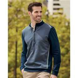 Adidas A277 Quarter-Zip Birdseye Fleece Pullover