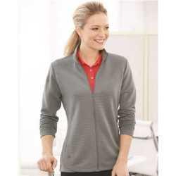 Adidas A416 Women's Textured Full-Zip Jacket