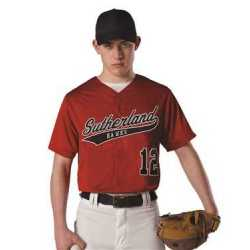 Alleson Athletic A00019 Dura Light Mesh Baseball Jersey