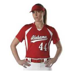 Alleson Athletic 552JW Women's Short Sleeve Fastpitch Jersey