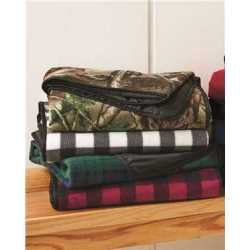 Alpine Fleece 8702 Polyester/Nylon Patterned Picnic Blanket