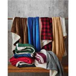 Alpine Fleece 8712 Micro Mink Sherpa Blanket