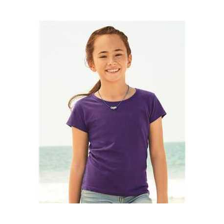 ALSTYLE 3362 Girls' Ultimate Short Sleeve T-Shirt