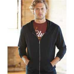 Anvil 6759 Triblend Full-Zip Hooded Long Sleeve T-Shirt