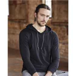 Anvil 987 Lightweight Hooded Long Sleeve T-Shirt