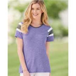Augusta Sportswear 3011 Women's Short Sleeve Fanatic T-Shirt