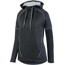 Augusta Sportswear 5556 Women's Zoe Tonal Heather Hoodie