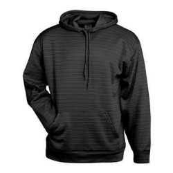 Badger 1425B Striped Hooded Sweatshirt