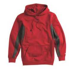 Badger 1465 Drive Performance Fleece Hooded Pullover