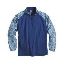 Badger 1487 Blend Sport Performance Fleece Quarter-Zip Pullover