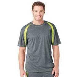 Badger 4340BA Pro Heather Fusion Short Sleeve T-Shirt