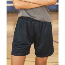 "Badger 7216 Women's Pro Mesh 5"" Shorts with Solid Liner"