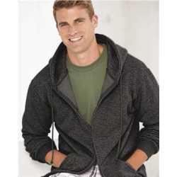 Bayside 900 USA-Made Full-Zip Hooded Sweatshirt