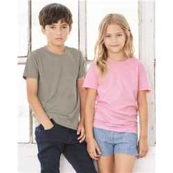 Bella + Canvas 3001Y Youth Unisex Jersey Short Sleeve Tee