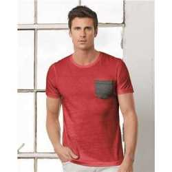 Bella + Canvas 3021 Jersey Short Sleeve Pocket Tee