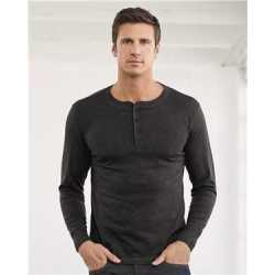 Bella + Canvas 3150 Jersey Long Sleeve Henley