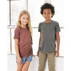 Bella + Canvas 3413Y Youth Triblend Short Sleeve Tee