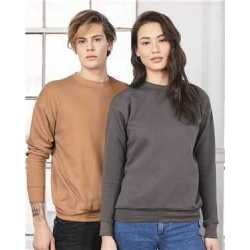 Bella + Canvas 3945 Unisex Sponge Fleece Drop Shoulder Crewneck Sweatshirt