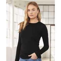 Bella + Canvas 6500 Women's Jersey Long Sleeve Tee