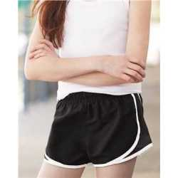 "Boxercraft P62Y Girls' Velocity 2 1/4"" Running Shorts"