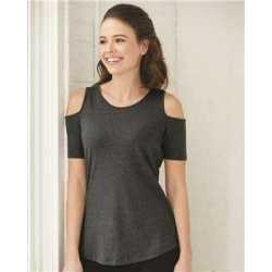 Boxercraft T32 Women's Cold Shoulder Tee