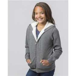 Boxercraft YQ19 Youth Sherpa Lined Hoodie