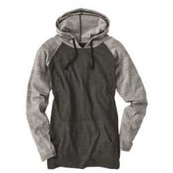 Burnside 8127 Yarn-Dyed Raglan Hooded Pullover