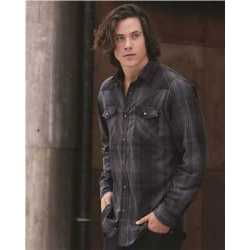 Burnside 8206B Long Sleeve Western Shirt