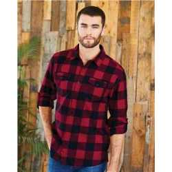 Burnside 8210 Yarn-Dyed Long Sleeve Flannel Shirt