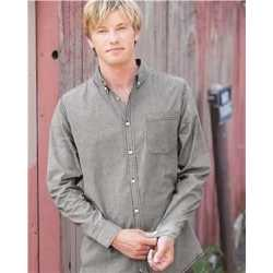 Burnside 8259 Stretch Stripe Long Sleeve Shirt