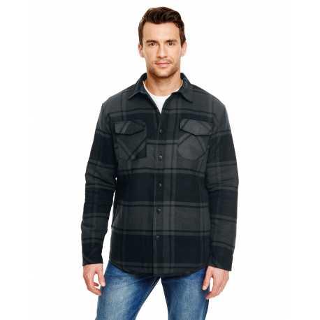 Burnside B8610 Adult Quilted Flannel Jacket