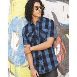 Burnside 9203 Buffalo Plaid Short Sleeve Shirt