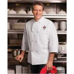 Chef Designs 0402 Three-Quarter Sleeve Chef Coat