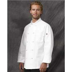 Chef Designs 0420L Executive Chef Coat Long Sizes