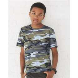 Code Five 2207L Youth Camouflage T-Shirt