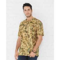 Code Five 3968 Men's Camouflage Crew Neck T-Shirt
