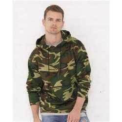 Code Five 3969 Adult Camo Pullover Fleece Hoodie
