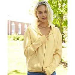 Comfort Colors 1598 Garment-Dyed Women's Full-Zip Hooded Sweatshirt